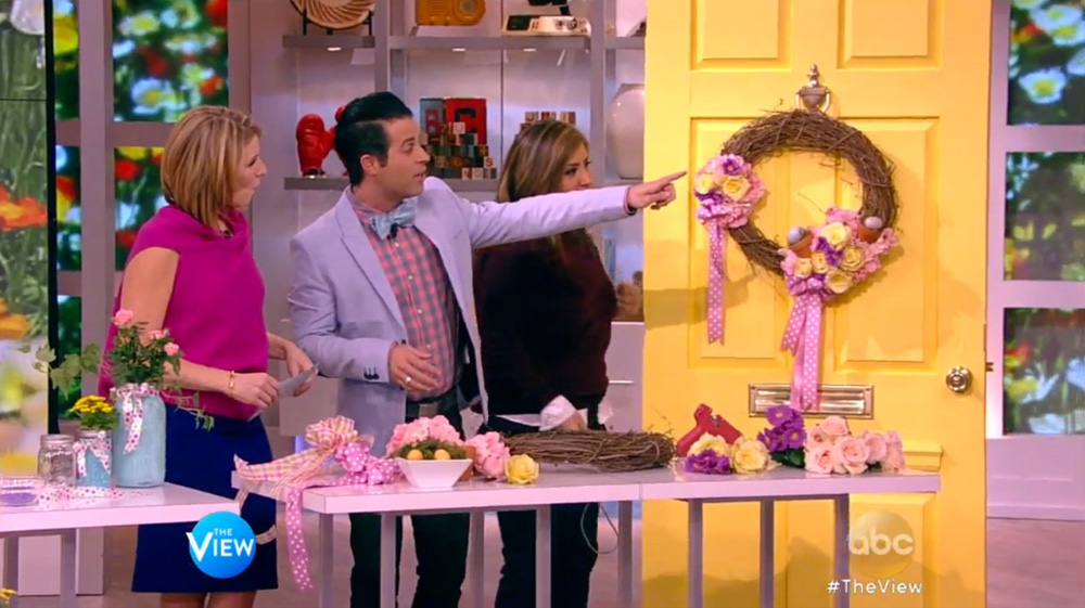 Mikie Russo's Spring Decorating Tips on The View