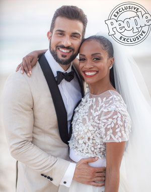 The Bachelorette's Rachel Lindsay and Bryan Abasolo Share Details of Their 'Island Chic' Wedding