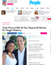 ​Fresh Prince of Bel-Air Star Tatyana Ali Marries Dr. Vaughn Rasberry