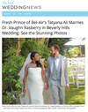 ​Fresh Prince of Bel-Air's Tatyana Ali Marries Dr. Vaughn Rasberry in Beverly Hills Wedding