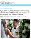 ​Kym Johnson, Robert Herjavec's Wedding Album: Planner Michael Russo Touches on the Classic and Timeless Details