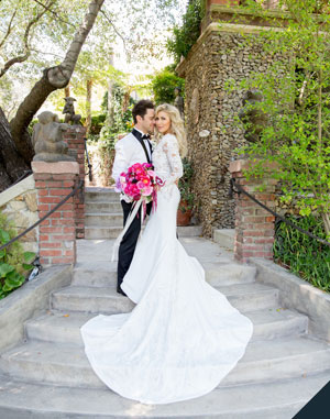 Dancing With the Stars' Pros Emma Slater and Sasha Farber's Wedding Album