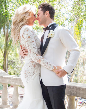 'Dancing With the Stars' Pros Emma Slater and Sasha Farber Share Their Russian and English-Inspired Wedding Album