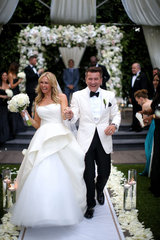 Robert and Kym Herjavec