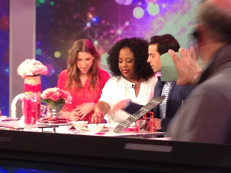 "ABC's The View ""Valentines Day Crafting"""